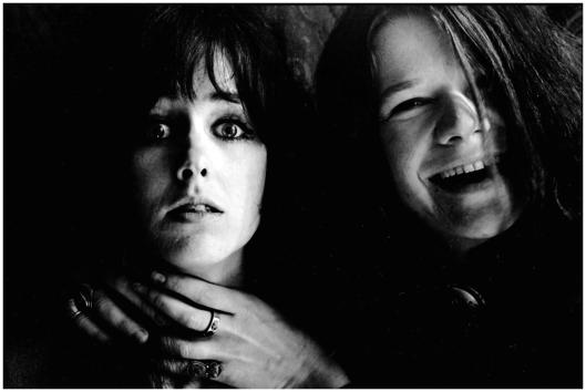 Grace Slick, Janis Joplin. Foto: Jim Marshall.